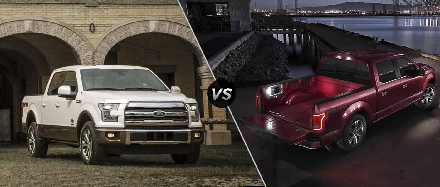2016 Ford F-150 King Ranch vs Platinum Trims