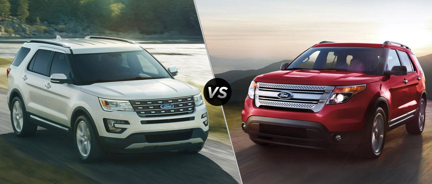 2016 Ford Explorer Vs 2015 Ford Explorer