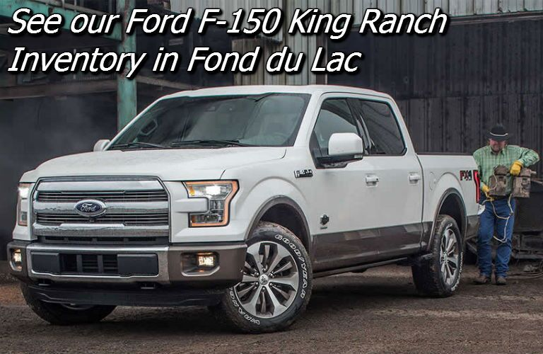 2016 ford f 150 king ranch fond du lac wi. Black Bedroom Furniture Sets. Home Design Ideas