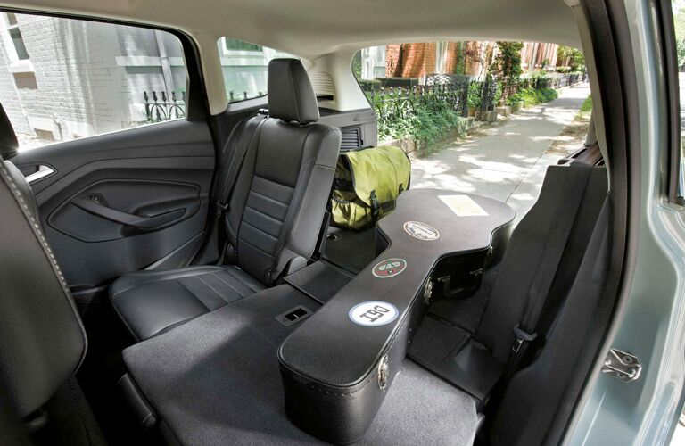2017 ford c-max carrying a guitar in the back