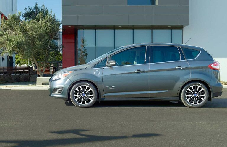 2017 ford c-max parked on street
