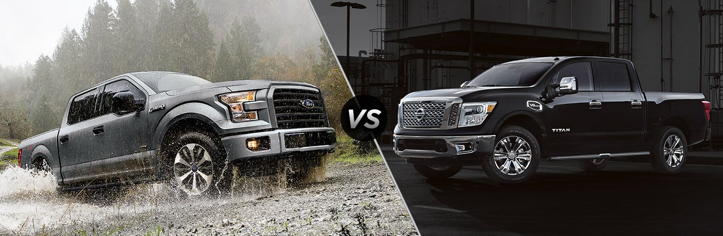 2017 Ford F-150 vs 2017 Nissan Titan