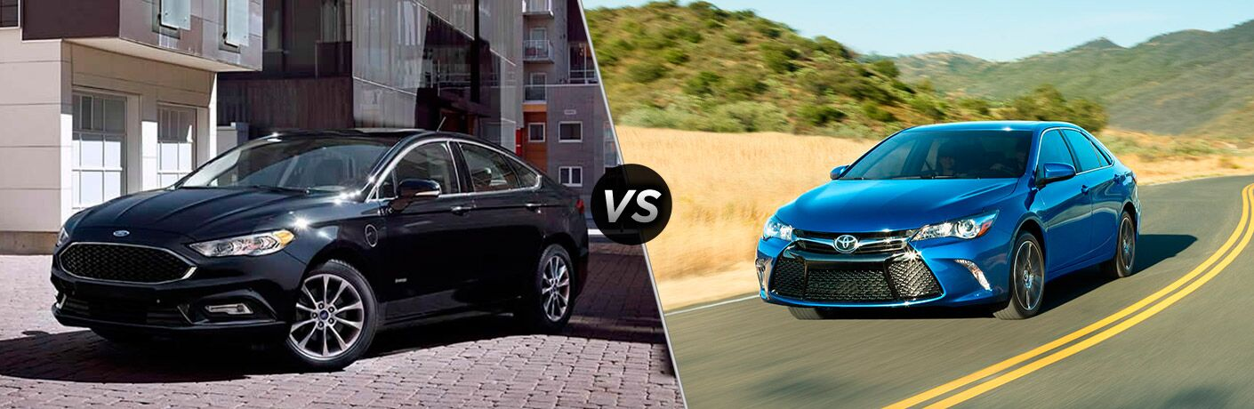2017 Ford Fusion vs Toyota Camry