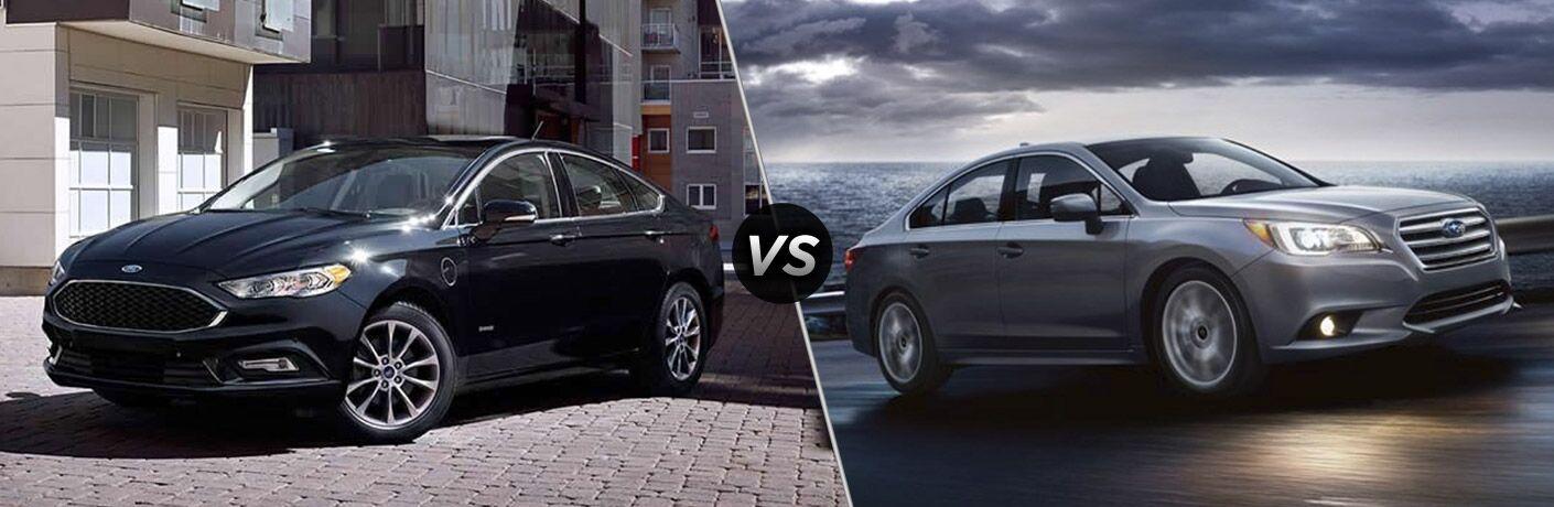 2017 Ford Fusion vs 2017 Subaru Legacy