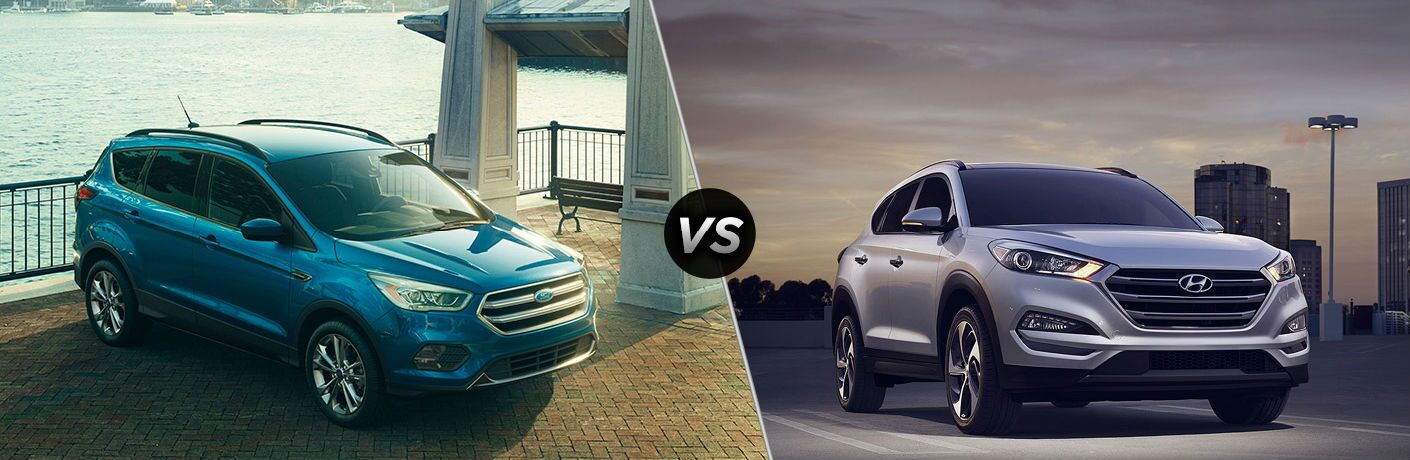 2020 Ford Escape vs 2020 Hyundai Tucson