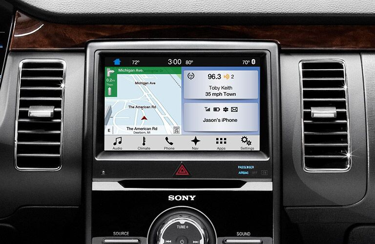 2017 ford flex with infotainment touchscreen