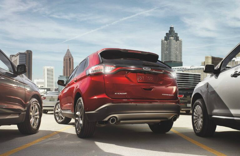 using park assist in the 2017 ford edge