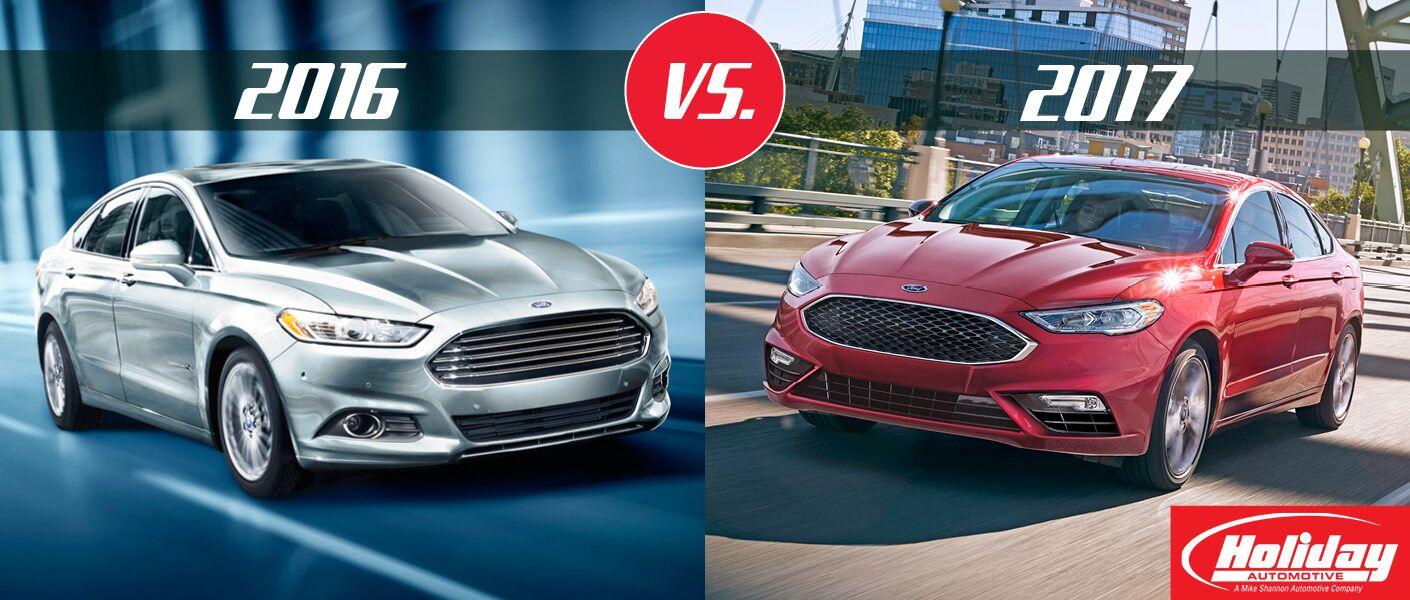 2017 Ford Fusion vs 2016 Ford Fusion
