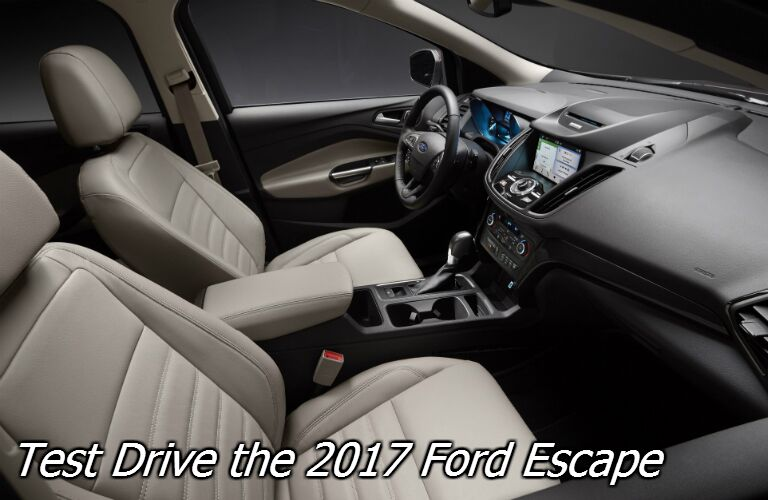 where can i test drive different trims on the ford escape in fond du lac?