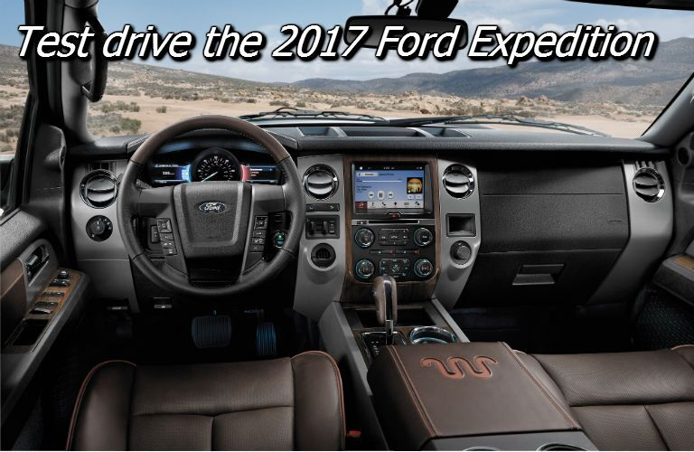 where can i test drive a ford expedition near appleton