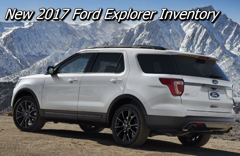 deals on the 2017 ford explorer in wisconsin