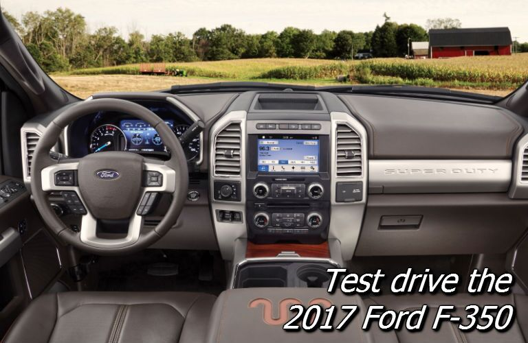 where can i test drive the new ford f-350 super duty in fond du lac wi?