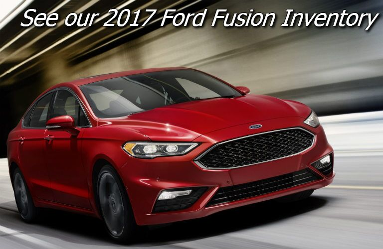 deals on the new ford fusion in fond du lac county