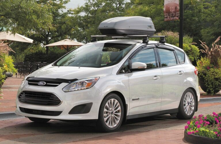 2018 Ford C-Max white side view