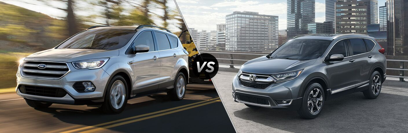 2018 ford escape vs 2018 honda cr v