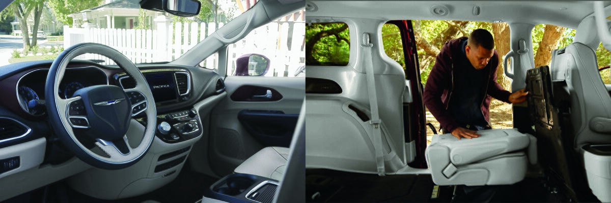 Chrysler Pacifica excellent interior features