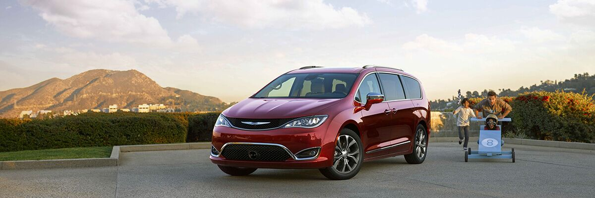 Hollywood Chrysler has the all-new Chrysler Pacifica
