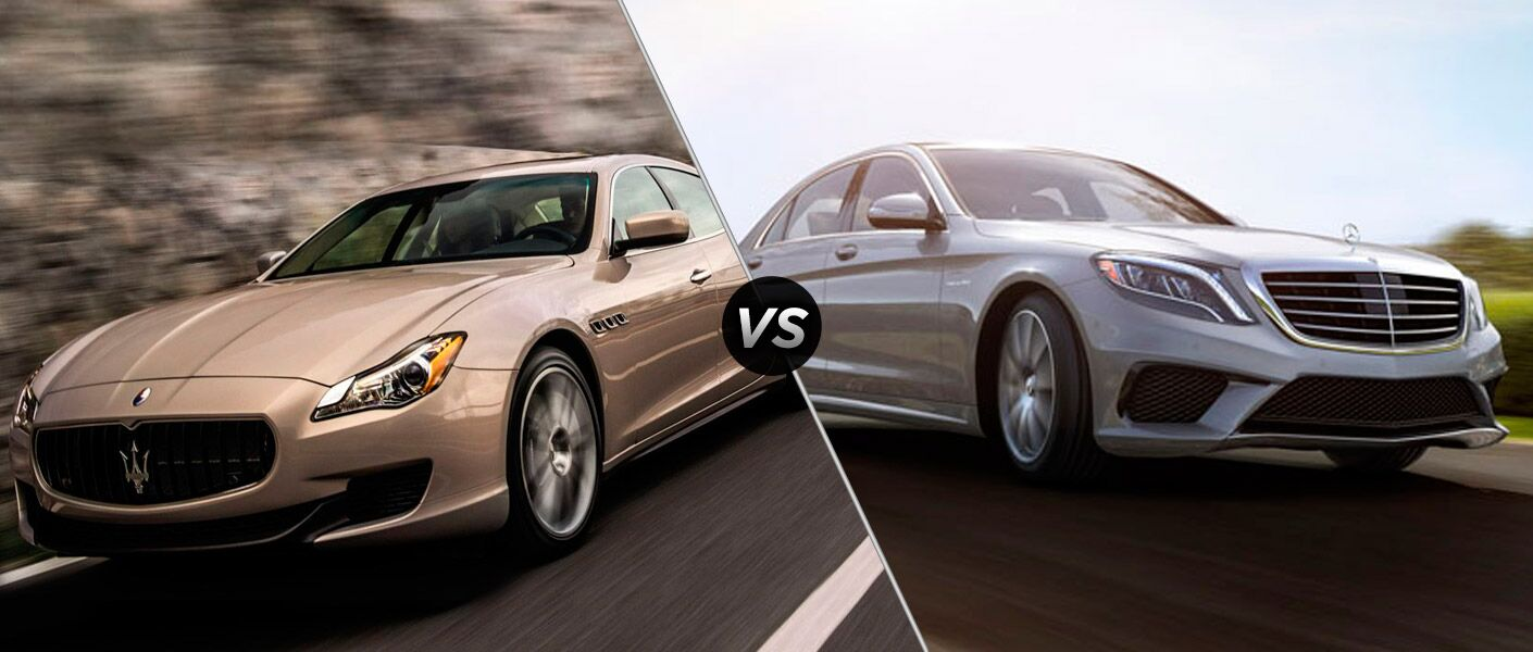 2014 maserati quattroporte vs mercedes benz s550 for Mercedes benz service appointment