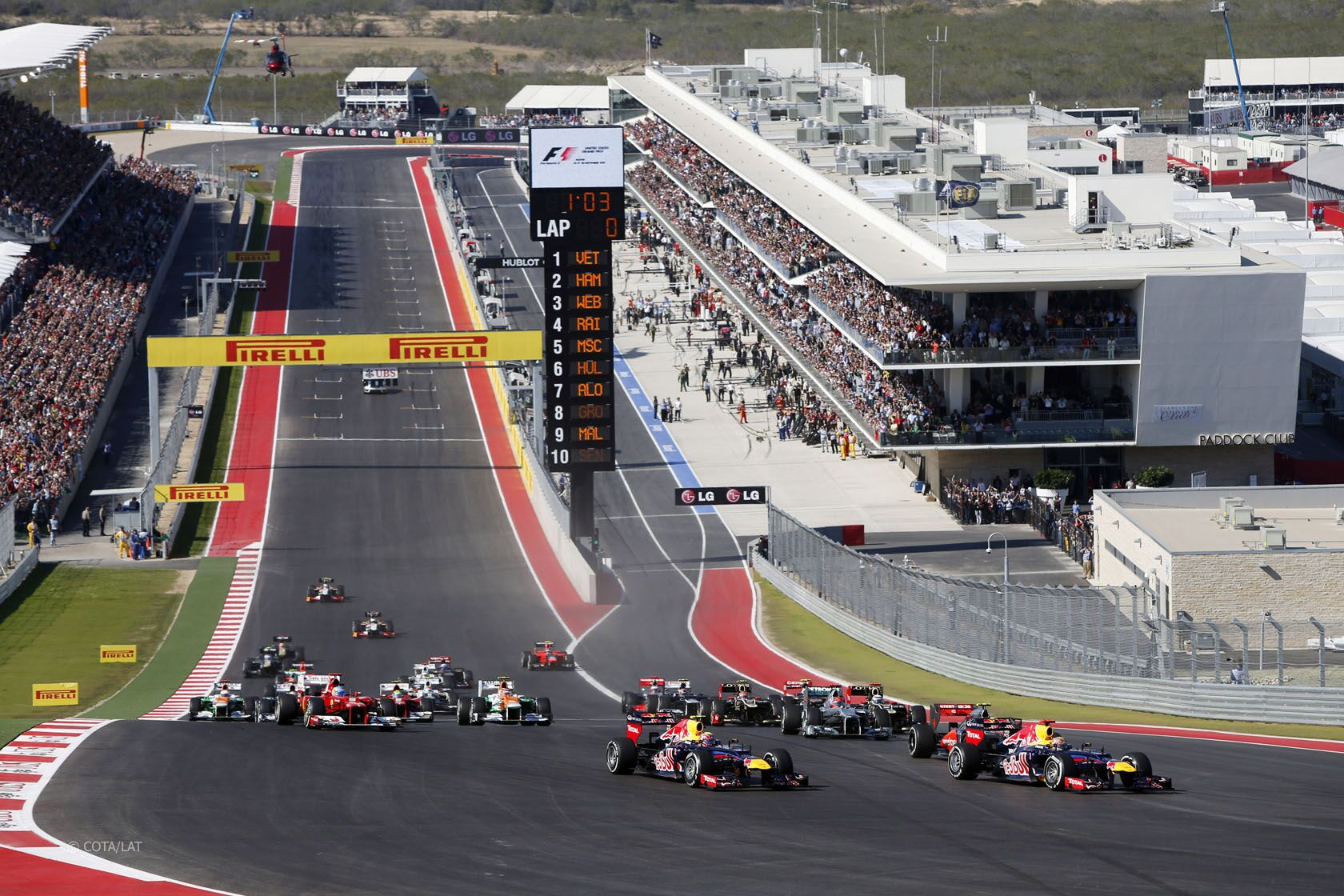 Us Grand Prix >> Formula One Us Grand Prix At Cota With Ferrari Challenge
