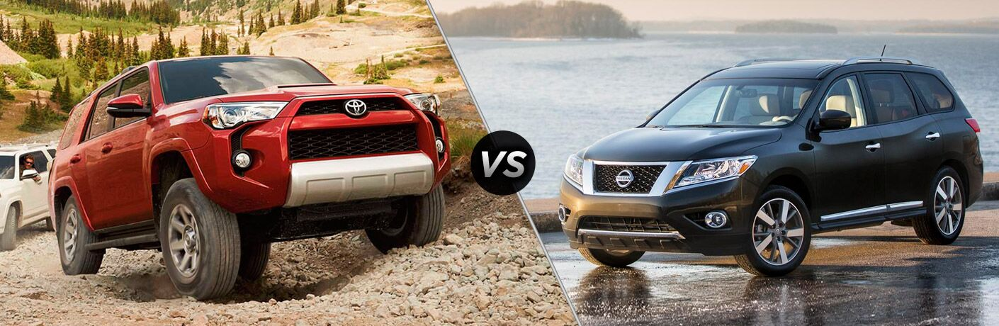 2016 toyota 4runner vs 2016 nissan pathfinder. Black Bedroom Furniture Sets. Home Design Ideas