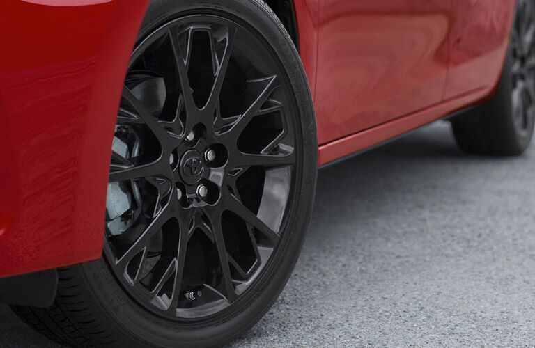 2016 Toyota Corolla Black Alloy Wheels