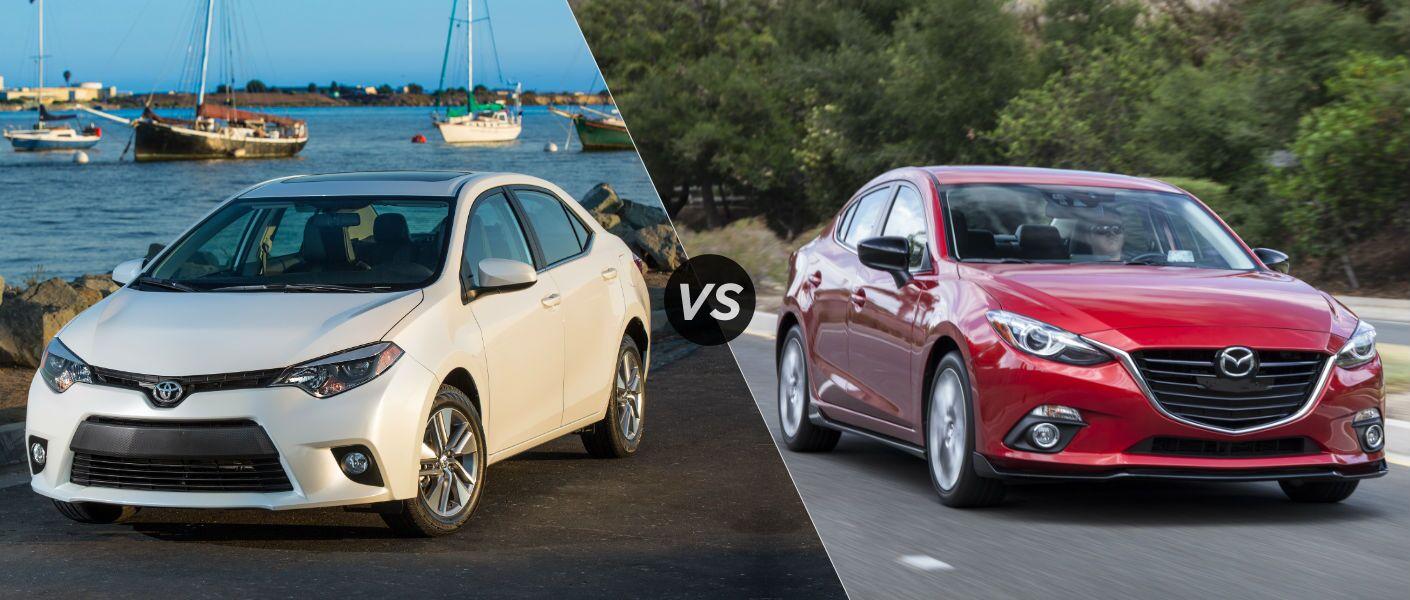 2016 Toyota Corolla vs 2016 Mazda 3