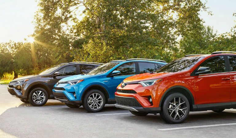 2016 Toyota RAV4 Color Options Near Springfield MA at Gale Toyota
