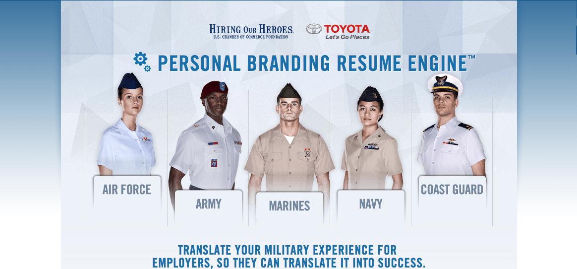toyota hiring our heroes resume program