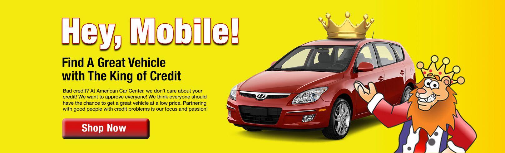 Used Cars Mobile Al >> Used Cars Bad Credit Mobile Al American Car Center