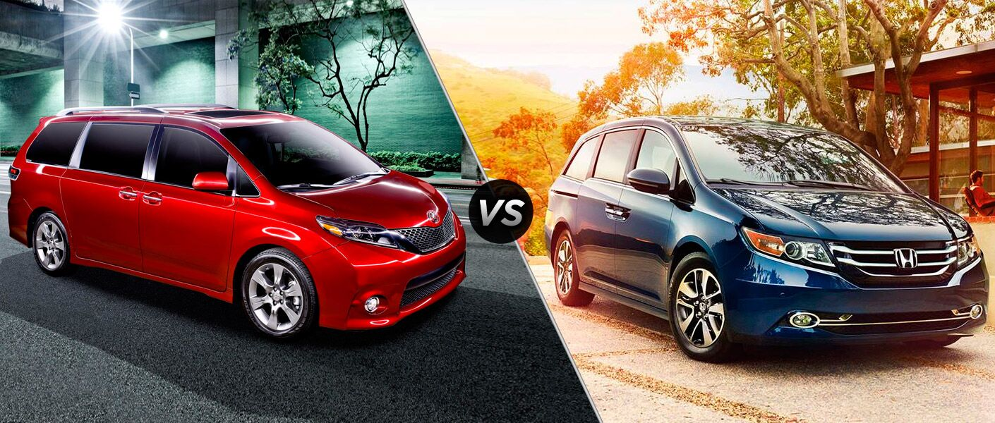2016 toyota sienna vs 2016 honda odyssey. Black Bedroom Furniture Sets. Home Design Ideas