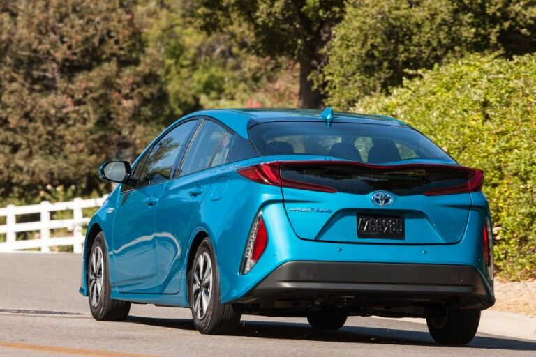 2018 Toyota Prius Prime Exterior Driver Side Rear