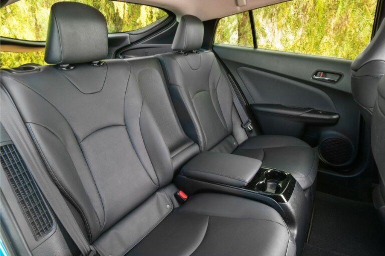 2018 Toyota Prius Prime Interior Cabin Rear Seats