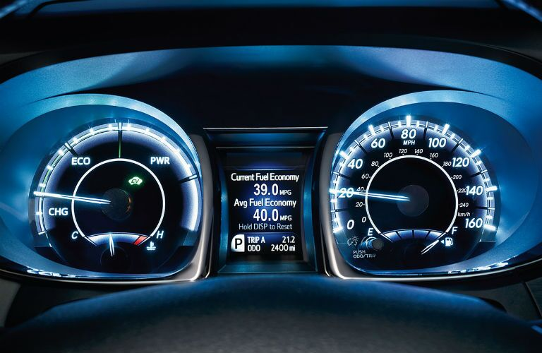 2018 Toyota Avalon Hybrid Interior Cabin Dashboard Instrument Cluster