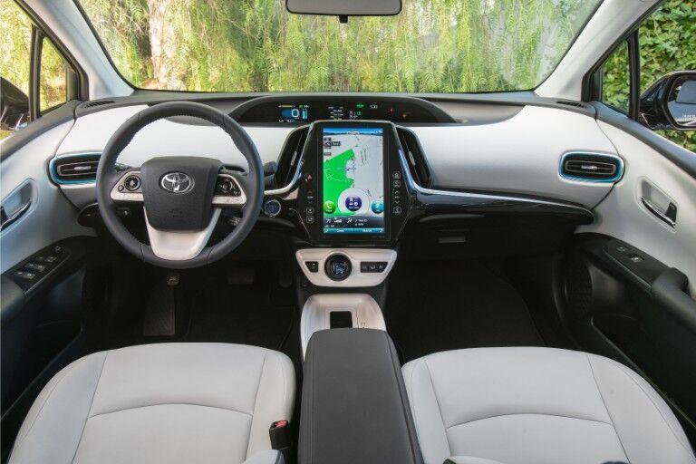2018 Toyota Prius Prime Interior Cabin Dashboard
