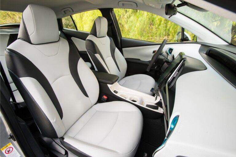2018 Toyota Prius Prime Interior Cabin Front Seats