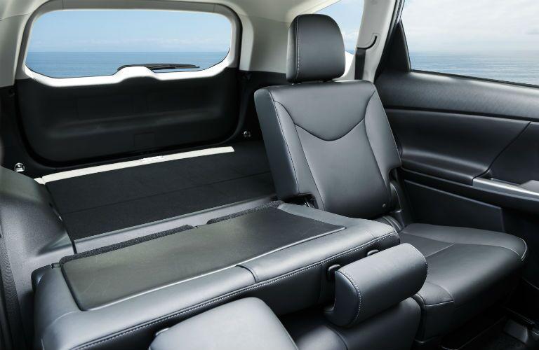 2018 Toyota Prius v Interior Cabin Rear Seats