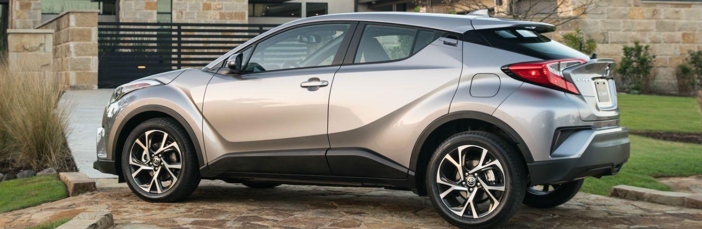 2018 toyota c-hr exterior silver