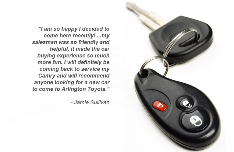 Certified Pre-Owned at Arlington Toyota