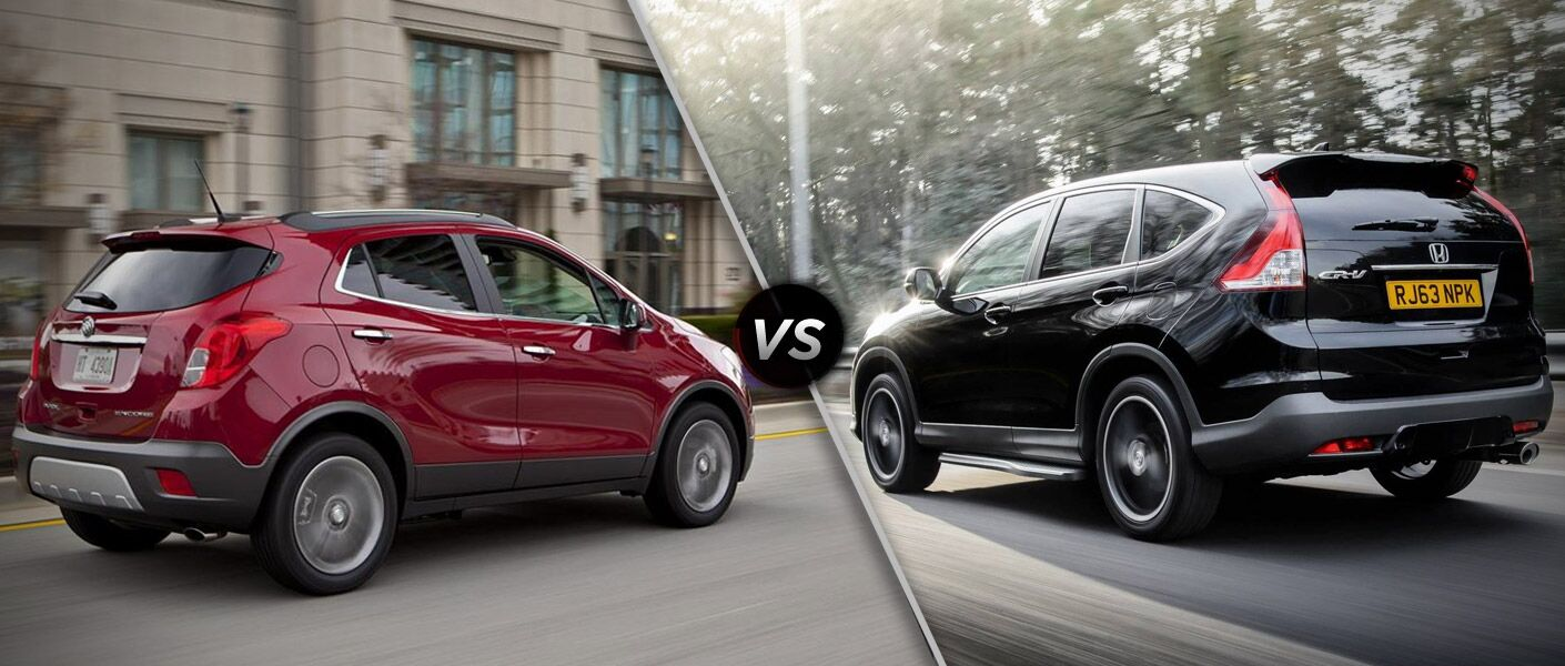 2014 buick encore vs 2014 honda cr v for Buick encore vs honda hrv