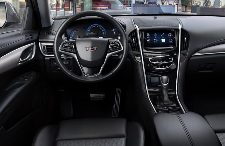 2016 Cadillac ATS Black Interior