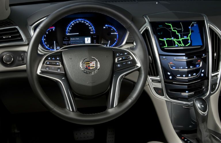 Used Cadillac XTS dashboard design
