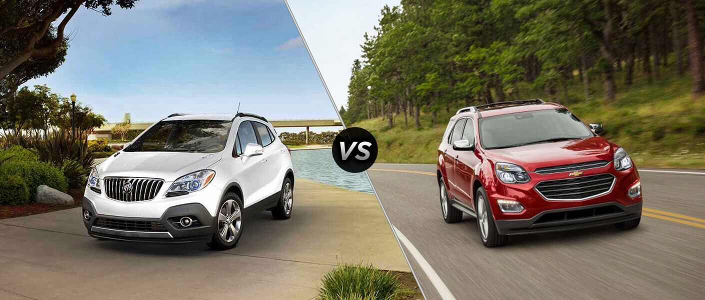 2016 buick encore vs 2016 chevy equinox. Black Bedroom Furniture Sets. Home Design Ideas