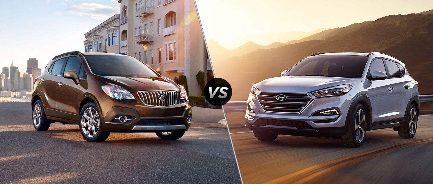 Emissions Testing Tucson >> 2016 Buick Encore vs 2016 Hyundai Tucson