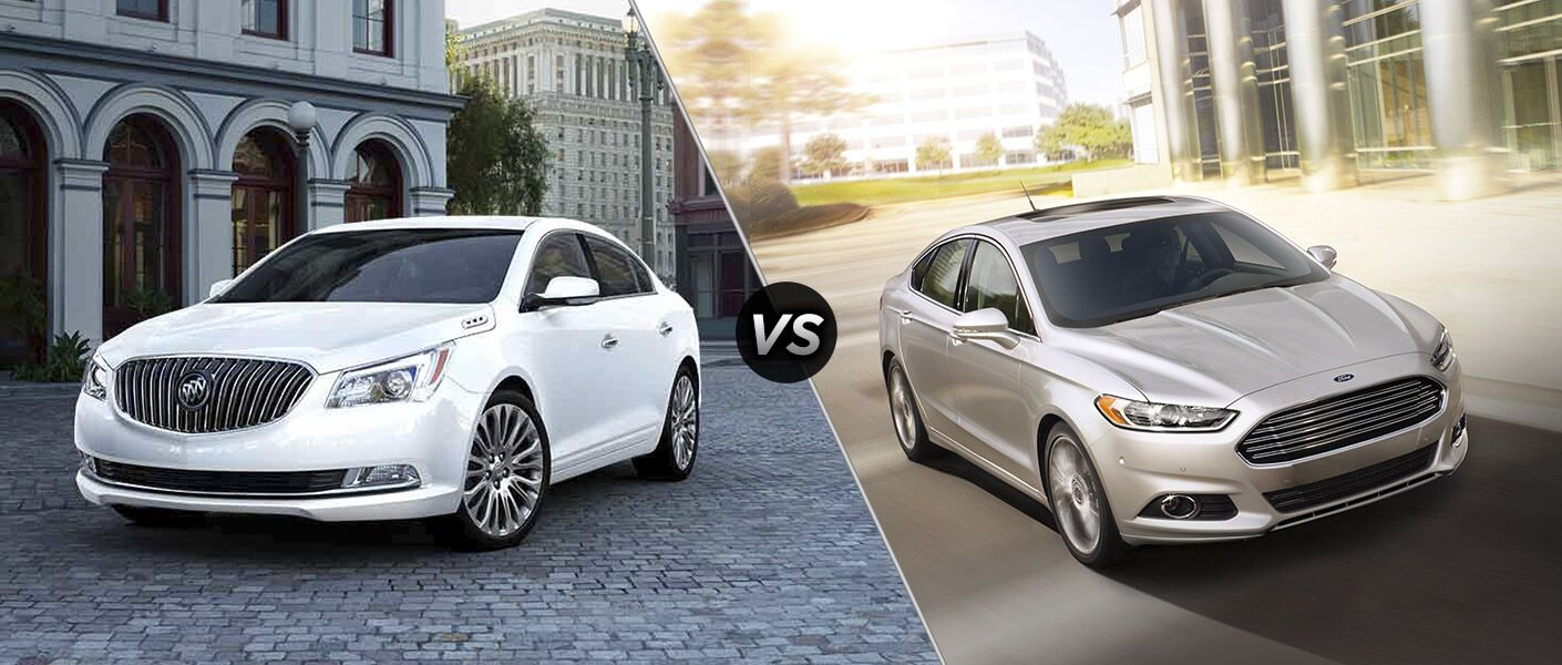 Buick LaCrosse Vs Ford Fusion - Buick ford