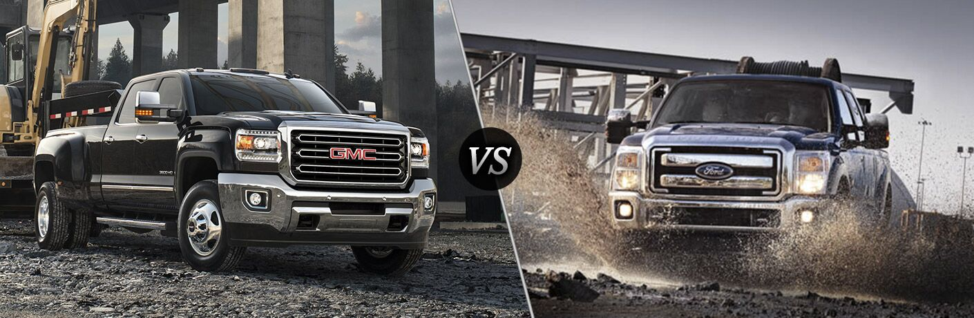 2016 gmc sierra 3500hd vs 2016 ford f 350. Black Bedroom Furniture Sets. Home Design Ideas