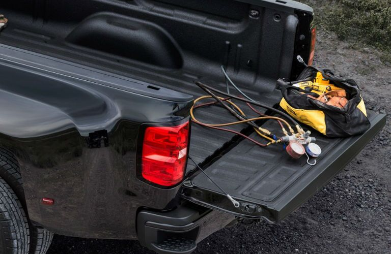 Used GMC Sierra truck bed