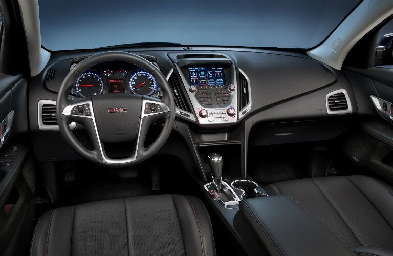 2016 GMC Terrain Interior design