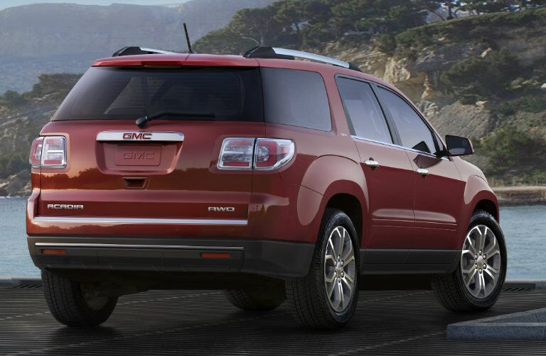 2017 GMC Acadia Exterior Color Options