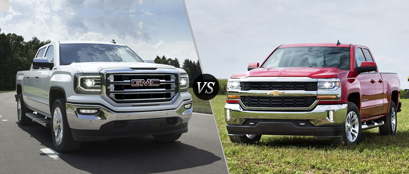 2016 GMC Sierra 1500 vs 2016 Chevy Silverado