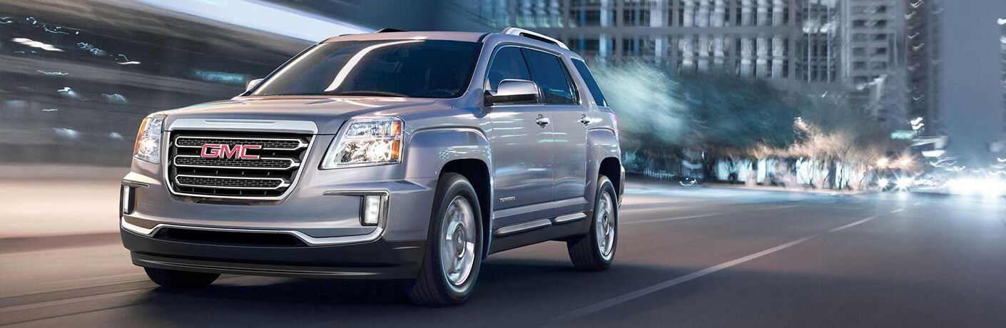 Used GMC Terrain exterior design